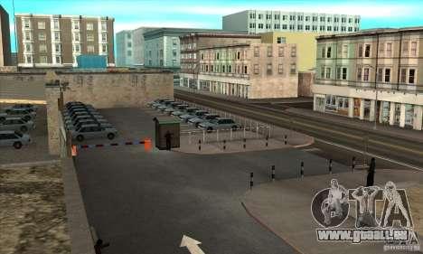 Renouvellement des auto-écoles à San Fierro pour GTA San Andreas