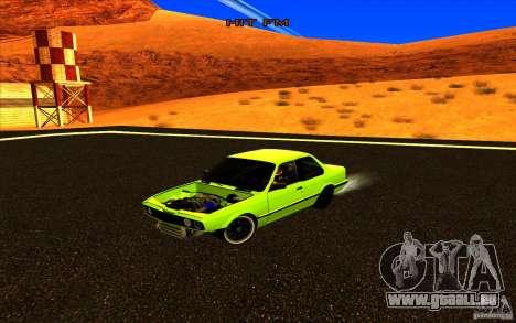 BMW E30 2.7T pour GTA San Andreas sur la vue arrière gauche