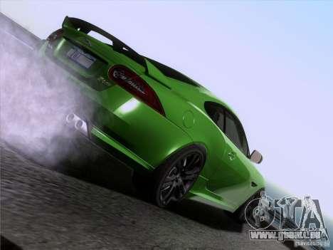 Jaguar XKR-S 2011 V2.0 für GTA San Andreas Motor