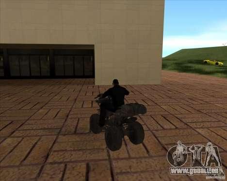 CoD MW 3 quadro pour GTA San Andreas sur la vue arrière gauche