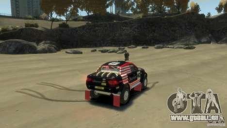 Mitsubishi L200 Rally pour GTA 4 Vue arrière de la gauche