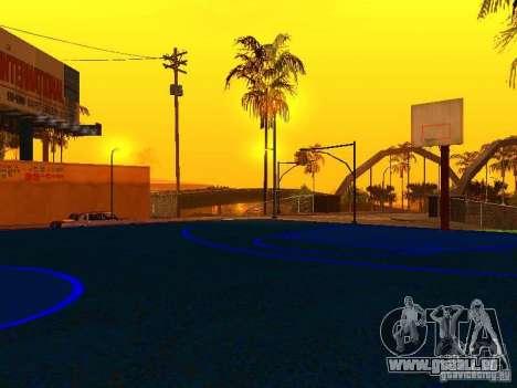 Terrain de basket pour GTA San Andreas cinquième écran