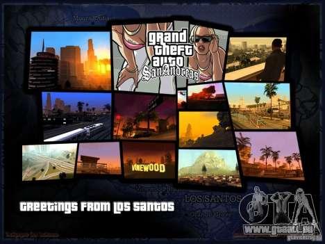 Schönes Boot-Bildschirm für GTA San Andreas zweiten Screenshot