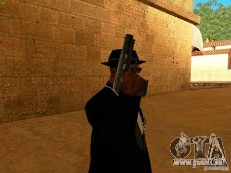 Five-Seven MW3 pour GTA San Andreas quatrième écran