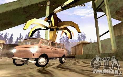ZAZ 970 für GTA San Andreas Innen