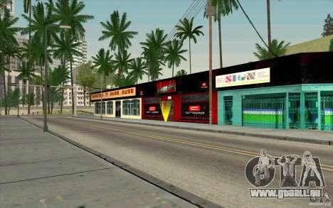 Cropp Town SHOP pour GTA San Andreas troisième écran