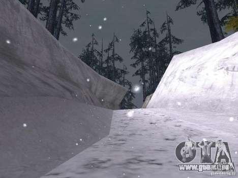 Neige pour GTA San Andreas onzième écran
