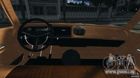 Dodge Monaco 1974 Taxi v1.0 für GTA 4 Rückansicht