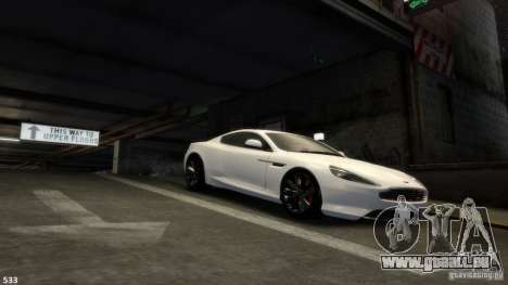 Aston Martin Virage 2012 v1.0 pour GTA 4 roues