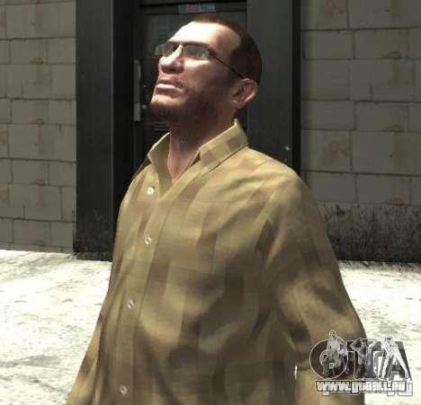 Nouvelles lunettes pour Niko-lumineux pour GTA 4 secondes d'écran
