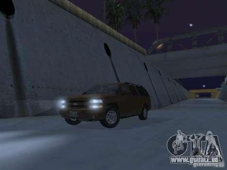 Chevrolet Suburban 2003 pour GTA San Andreas salon