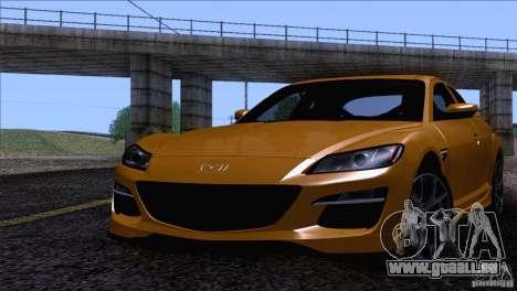 Mazda RX8 R3 2011 für GTA San Andreas