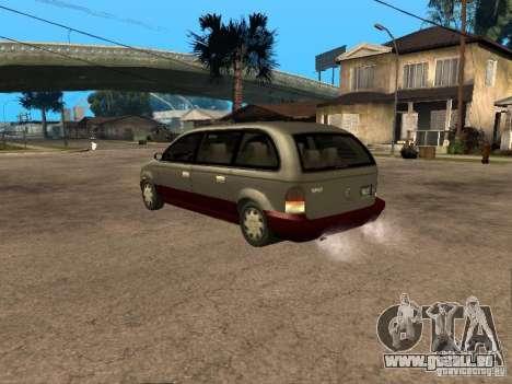 HD Blista pour GTA San Andreas laissé vue