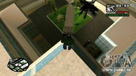 Neue Texturen-Krankenhaus in Los Santos für GTA San Andreas dritten Screenshot