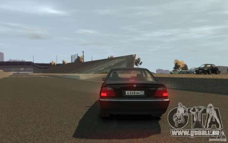 BMW 750i (e38) v2.0 für GTA 4 hinten links Ansicht
