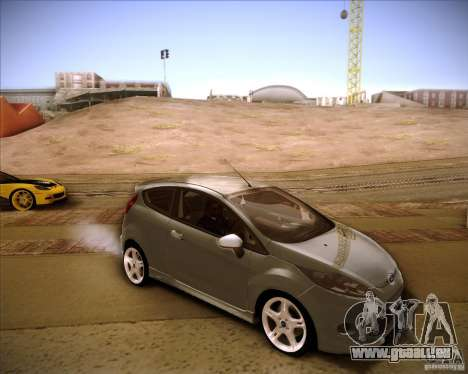 Ford Fiesta Zetec S 2010 pour GTA San Andreas