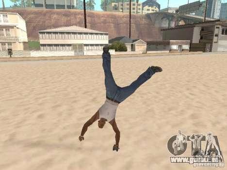 Parkour 40 mod pour GTA San Andreas quatrième écran