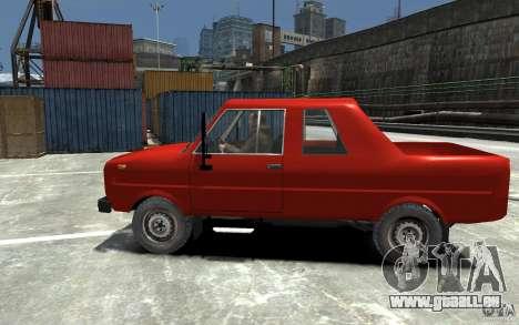 FSR Tarpan 237D pour GTA 4 est une gauche
