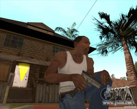CoD:MW2 weapon pack pour GTA San Andreas neuvième écran