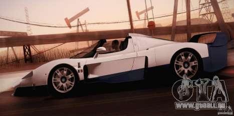 Maserati MC12 V1.0 pour GTA San Andreas moteur