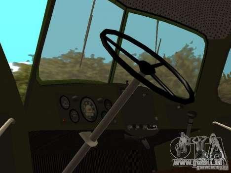 ZIL 164P für GTA San Andreas Rückansicht