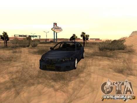 Mazda 6 Sport pour GTA San Andreas
