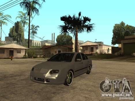 Skoda Octavia Custom Tuning pour GTA San Andreas