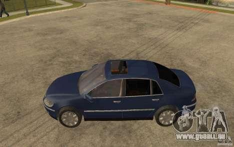 Volkswagen Phaeton 2005 pour GTA San Andreas laissé vue