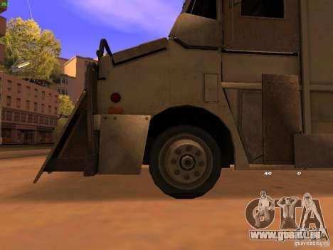 Monster Van pour GTA San Andreas vue de droite