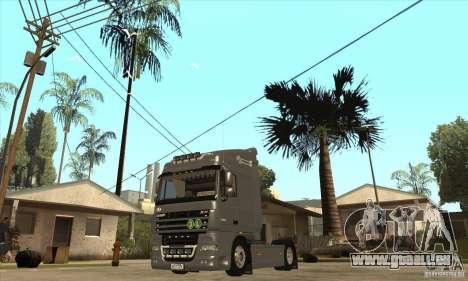 DAF XF pour GTA San Andreas laissé vue