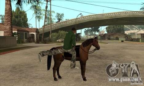 Cheval pour GTA San Andreas troisième écran