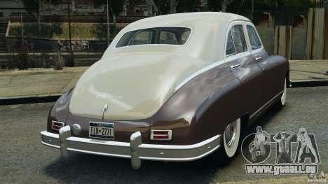 Packard Eight 1948 für GTA 4 rechte Ansicht