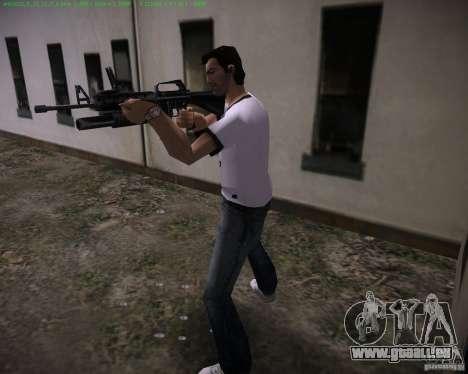 M-16 von Scarface für GTA Vice City zweiten Screenshot