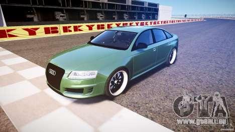 Audi RS6 2009 pour GTA 4