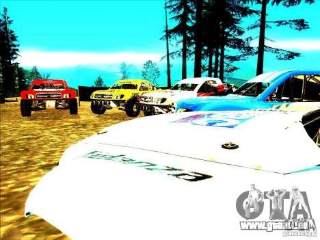 Toyota Tundra Rally pour GTA San Andreas salon