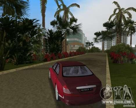 Maybach 57 pour une vue GTA Vice City de la droite