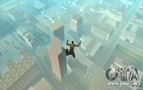 Parachute pour GTA San Andreas quatrième écran