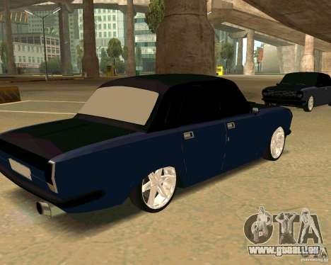 GAZ 24 pour GTA San Andreas laissé vue