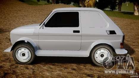 Fiat 126p Bis Rally pour GTA 4 est une gauche