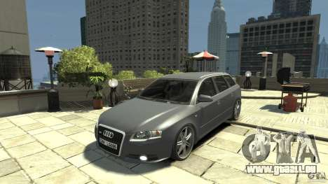 Audi A4 Avant beta pour GTA 4 est une gauche