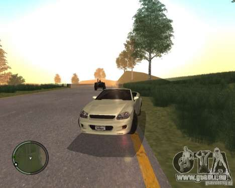 Feltzer de GTA 4 pour GTA San Andreas sur la vue arrière gauche
