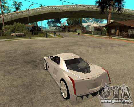 Cadillac Cien für GTA San Andreas linke Ansicht