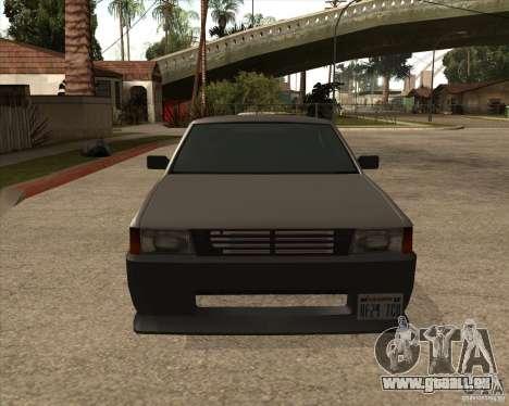 Blistac améliorée pour GTA San Andreas laissé vue