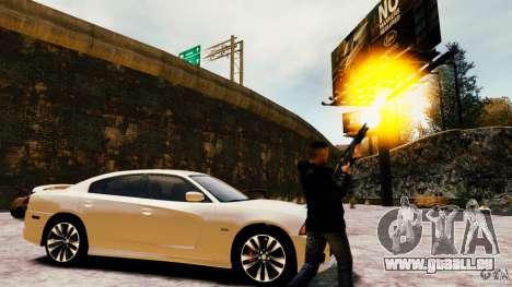 Marshall de Crysis 2 pour GTA 4 sixième écran