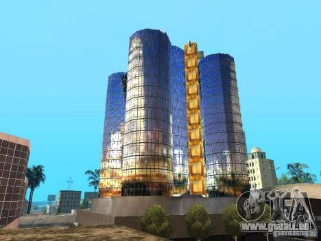 Nouvelle texture du gratte-ciel pour GTA San Andreas quatrième écran