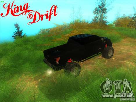 Toyota Tundra OFF Road Tuning pour GTA San Andreas