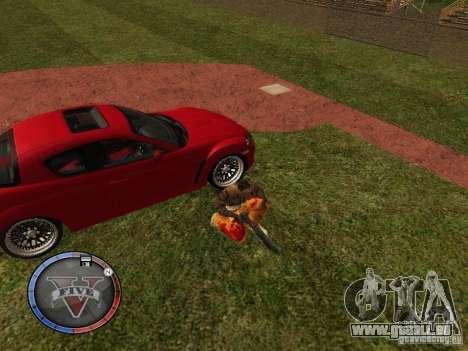 GTA 5 HUD für GTA San Andreas achten Screenshot