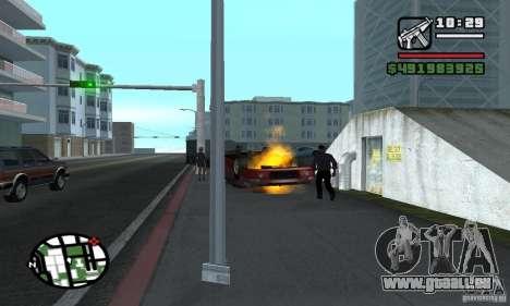 Verlegenheit Auto für GTA San Andreas zweiten Screenshot
