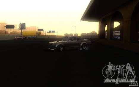 Nissan 2000GTR V2 für GTA San Andreas Rückansicht