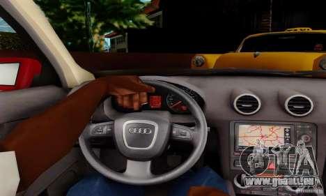 Audi A3 Sportback 3.2 Quattro pour GTA San Andreas vue de droite
